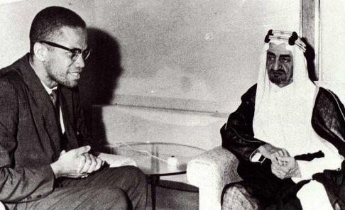 Malcolm X, Suudi Arabistan Veliahd Prensi Faysal'la, Cidde - Nisan 1964
